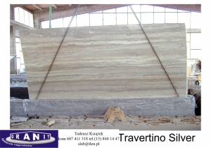 Travertino-Silver
